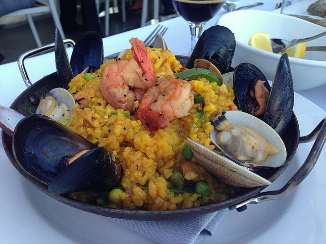 David's disappointing paella