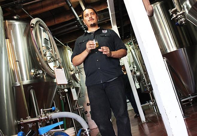 Brewer Ramon Cruz Fonseca of Tijuana craft brewery Border Psycho