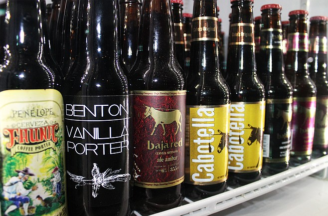Ice cold craft beers for sale in Tijuana