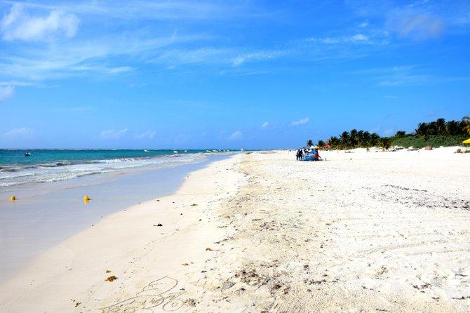 Empty Tulum beach