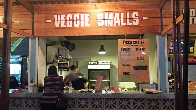 Veggie Smalls has held one of six stalls at outdoor gastro-court Food Garden since last November.