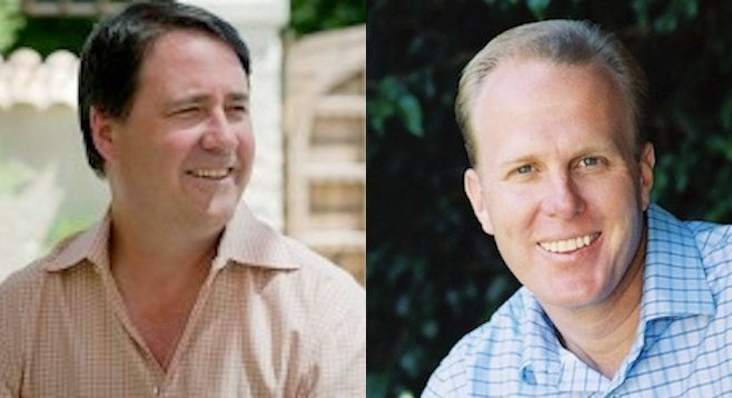 Darius Anderson and Kevin Faulconer