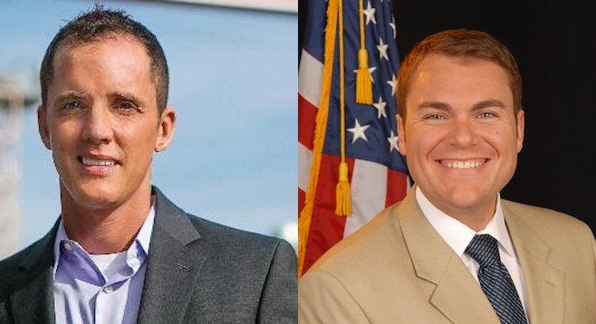 Johnathan Hale and Carl DeMaio
