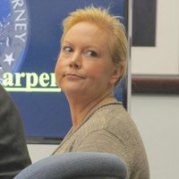 Julie Harper pleads not guilty.