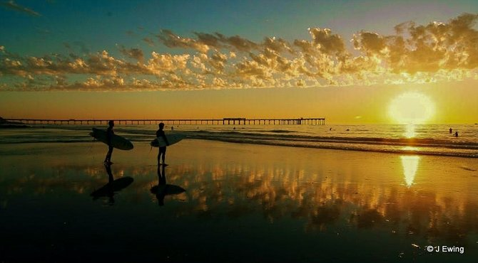 Low tide ob ocean beach san diego california san diego for Tides for fishing san diego