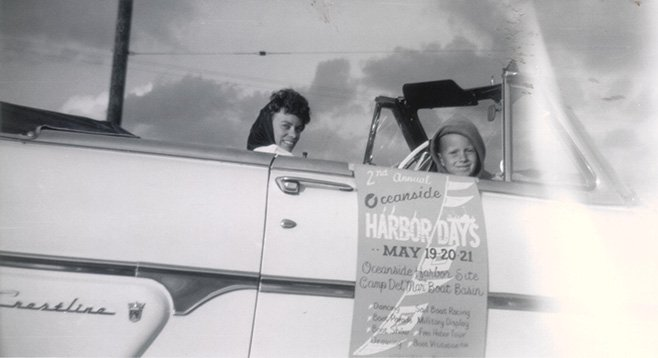 Advertising Oceanside's second annual Harbor Days in 1961