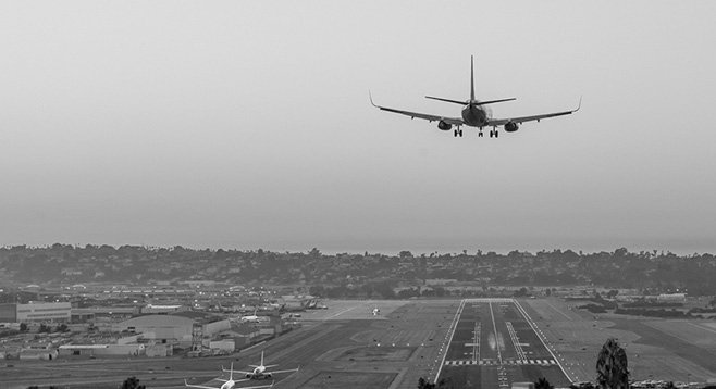 After a plane recently left a gate to take off from Lindbergh Field, carbon dioxide monitors sounded and crew had to resort to auxiliary air packs.