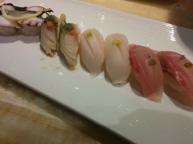 Photo Taken At Onami Tora Sushi Seafood Buffet By Kxequiel On 9 29