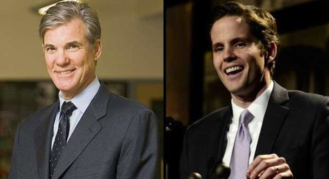 Tom Torlakson and Marshall Tuck