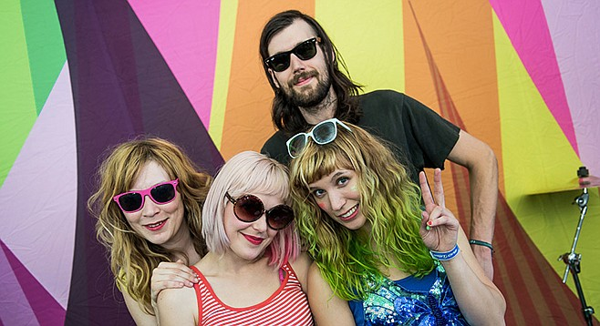 Doo-wop pop Seattle act TacocaT plays the Hideout Friday night.
