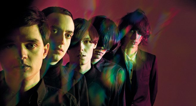 English goth-rockers the Horrors take the stage at Belly Up on Monday the 13th!
