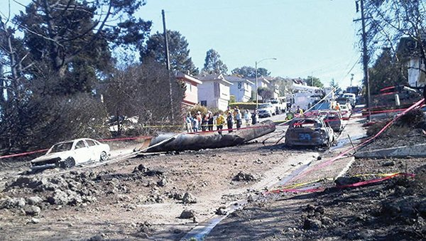 Pacific Gas & Electric's penalties for the 2010 San Bruno pipeline explosion were less than suggested.