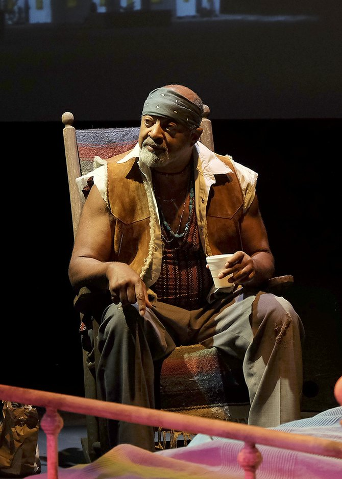 Antonio TJ Johnson in Fool for Love at Cygnet - Image by Ken Jacques