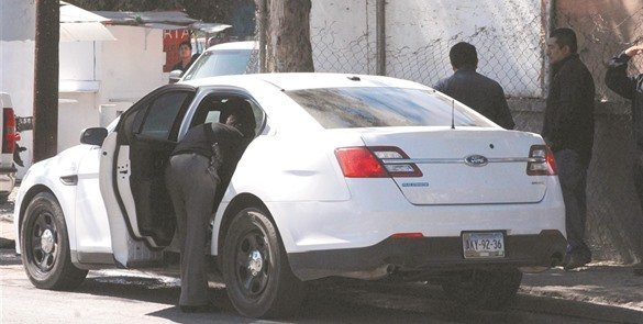 The car was recovered with no damage. (Photo: El Mexicano)
