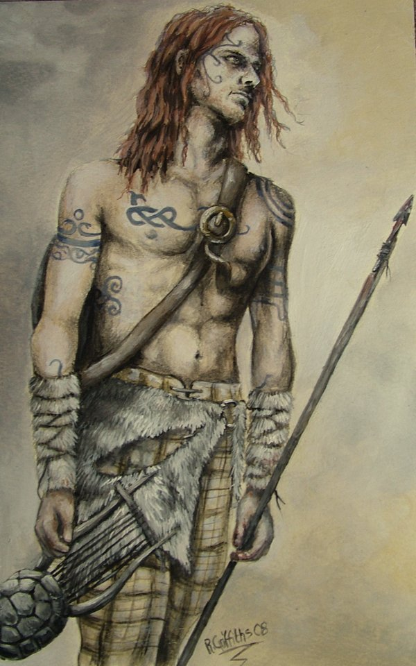 Woad Warrior by Becka-Van-Filth