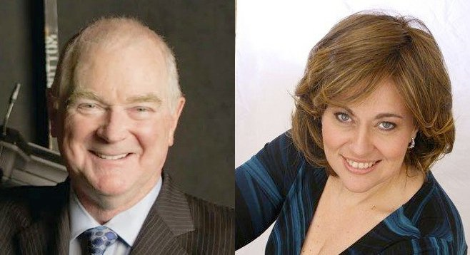 Ian Campbell and Susan Neves
