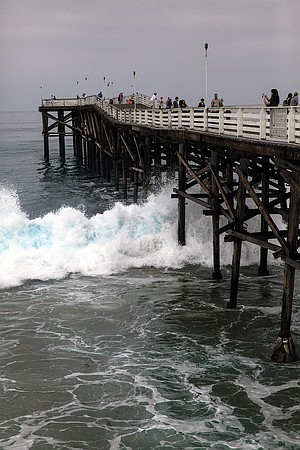 """""""Once in a Blue Wave"""" — Crystal Pier"""