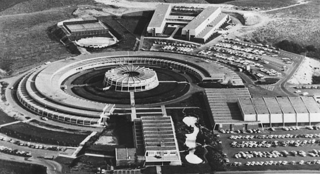 The city gave away hundreds of acres to General Atomics in the 1950s