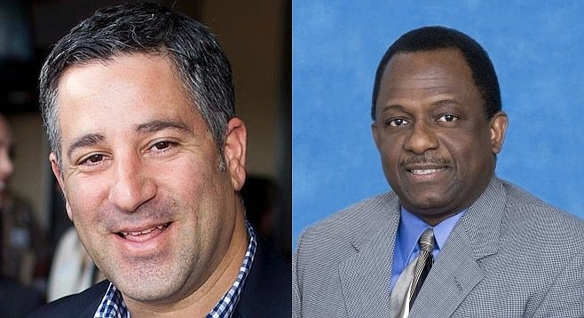 Tony Manolatos and Wayne Darbeau