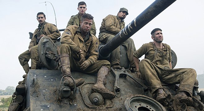 Fury: War may be hell, but it is also muddy.