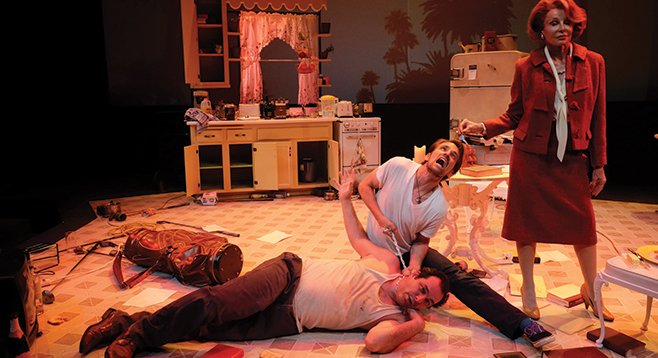 """""""I can't stop choking him. He'll kill me if I stop."""" True West's at the Cygnet through November 2."""