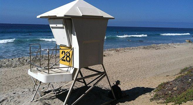 False signals from lifeguard station 28