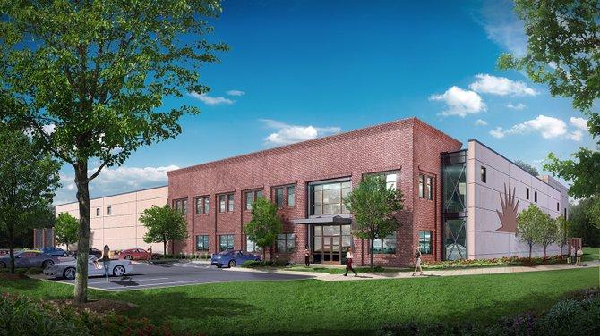 A rendering of Green Flash's upcoming brewery in Virginia Beach, Virginia