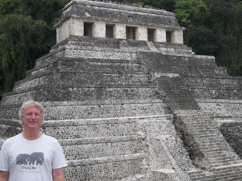 Palenque selfie.