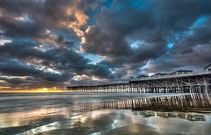 Crystal Pier Pacific Beach, San Diego, California