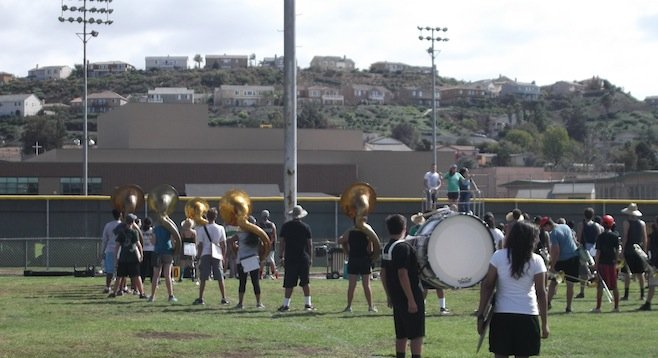 Helix High marching band