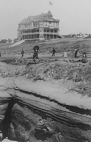 The La Jolla Park Hotel burned to the ground on June 14, 1896.