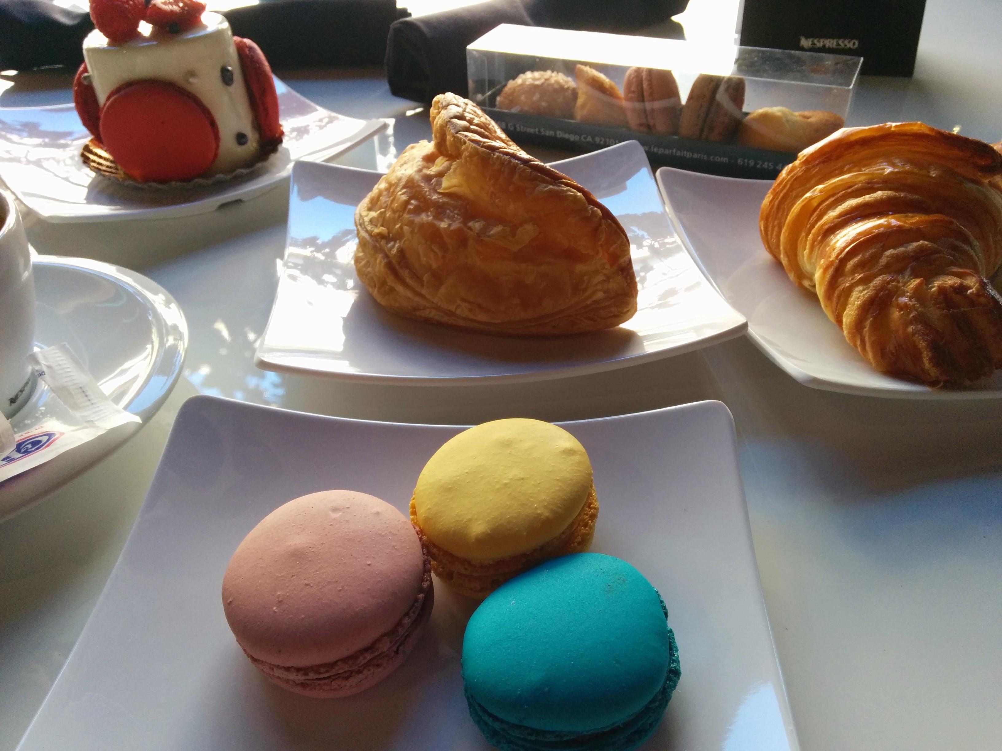 Le Parfait Paris' morning pastry