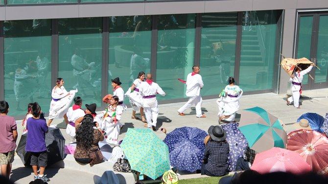 Dance team Guelaguetza San Marcos 2014