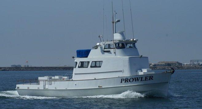 Prowler fishing boat
