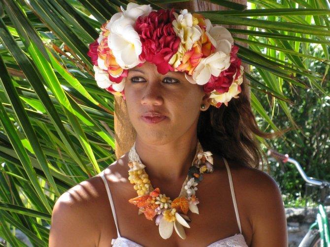 dancer Bora Bora