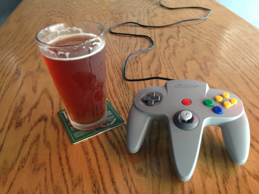 Beer and Nintendo warm my Gen-X heart.