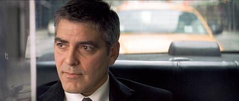 George Clooney watching Michael Clayton flash before his eyes.