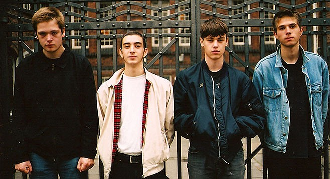 Copenhagen post-punks Iceage flow onto Casbah's stage Monday night.