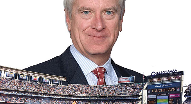 Mark Fabiani pulled in $50K in the third quarter of this year for lobbying Mayor Faulconer on the new Chargers stadium issue.