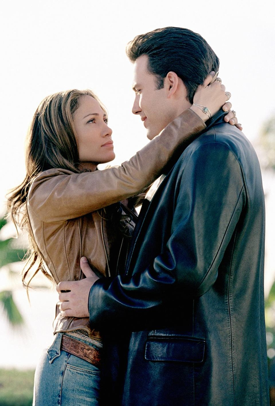 """Ben Affleck and """"what's-her-name?"""" in Gigli."""