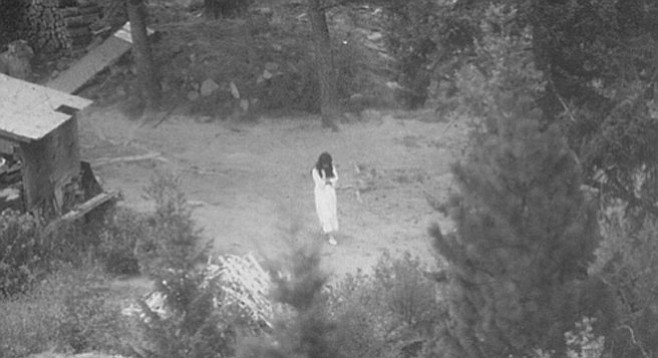 Vicki Weaver at Ruby Ridge, 1992