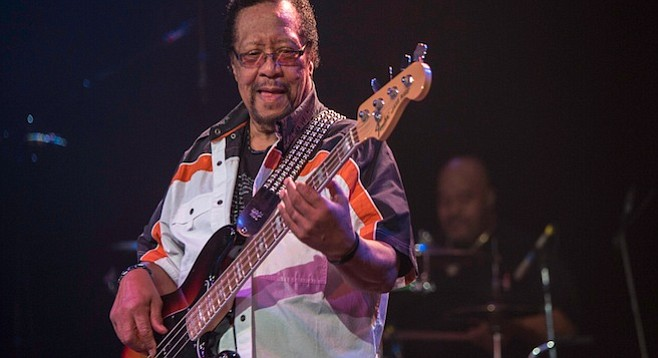 Bassist Billy Cox played with both the Jimi Hendrix Experience and Band of Gypsys.