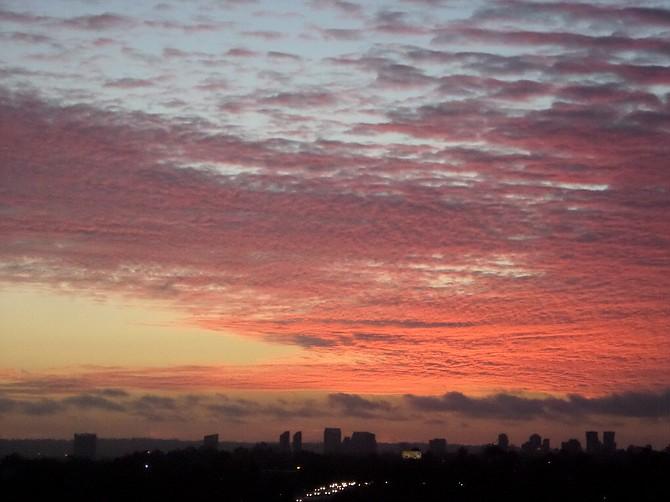 Pink Splendor- sunset in Emerald Hills