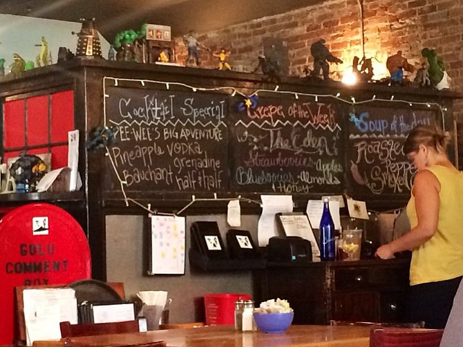 Gulu Gulu Cafe.