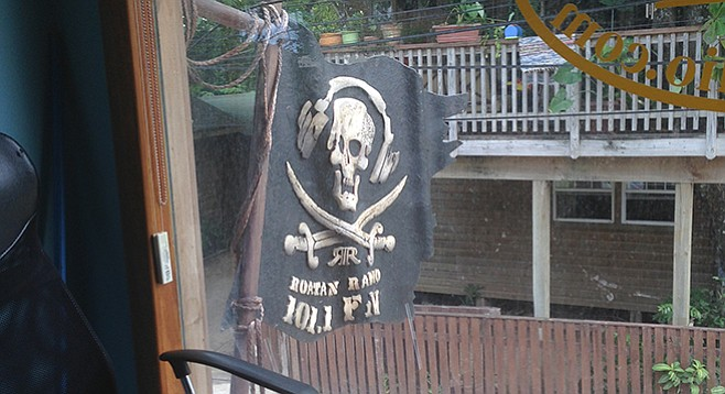 """Miller: """"Talk about your pirate radio..."""""""