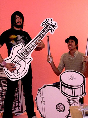 Dance-punk duo Death From Above 1979 land at House of Blues on Wednesday.