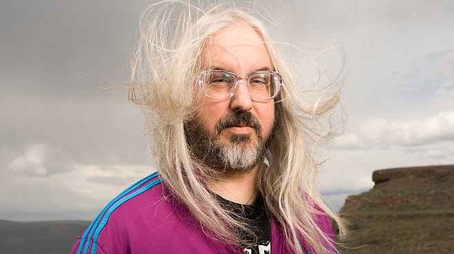Dinosaur Jr.'s J Mascis plays from his latest solo set, Tied to a Star, at Casbah Wednesday night!