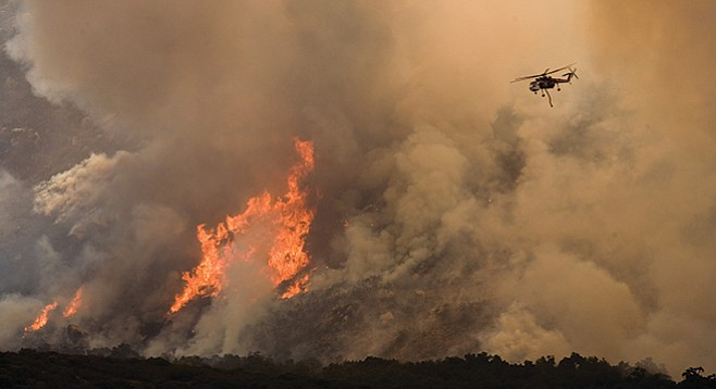 SDG&E, greatly responsible for the 2007 fires that scorched San Diego County, wanted ratepayers to pay for the uninsured costs.