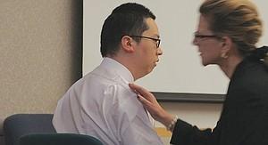 Bryan Chang w defense atty Kathleen Cannon