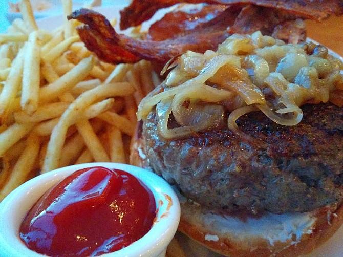Shorehouse burger
